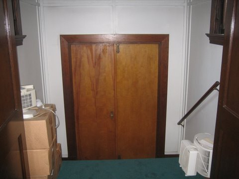 13 Behind the pulpit - originally the front door.JPG - 30651 Bytes
