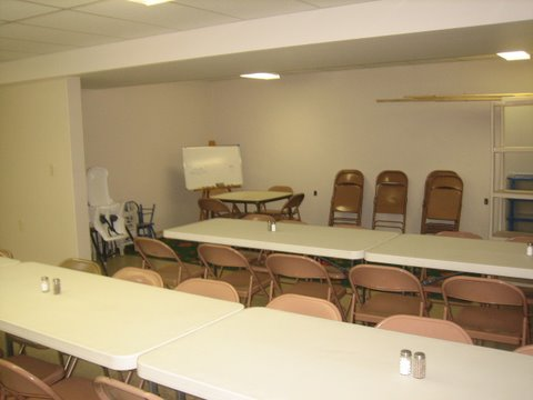 34 Fellowship Hall in basement.JPG - 29911 Bytes